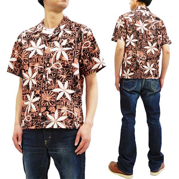 スター・オブ・ハリウッド SH38118 オープンシャツ エルヴィス・プレスリー メンズ 半袖シャツ ブラック 新品