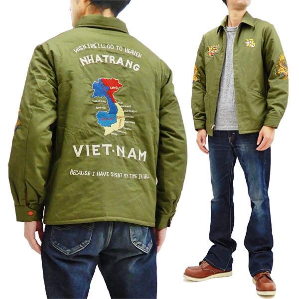 テーラー東洋 TT14471 リバーシブル ベトナムジャケット Tailor Toyo メンズ ベトジャン オリーブ 新品
