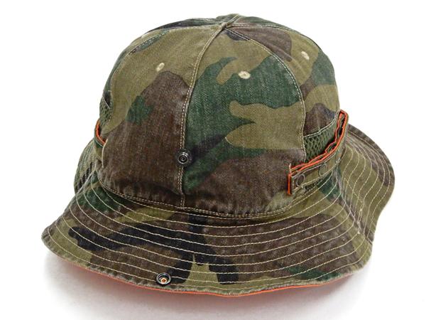 フェローズ ミリタリーハット 20S-PMSH1 Pherrow's Pherrows メンズ サンハット 帽子 迷彩 カモ 新品