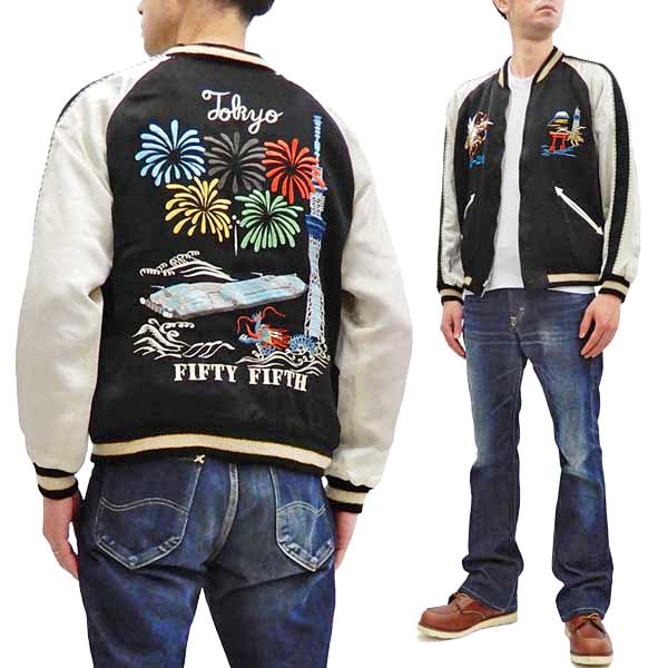 港商 スカジャン TT14632 東京 刺繍 テーラー東洋 メンズ スーベニアジャケット 新品