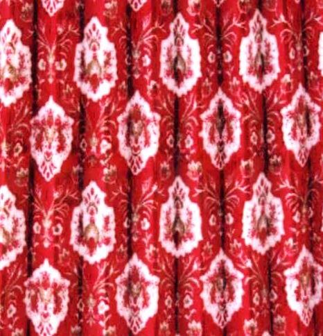 仮眠カーテン アコーデオン式 新格子、大花束、ローレル(裏地付き遮光タイプ)