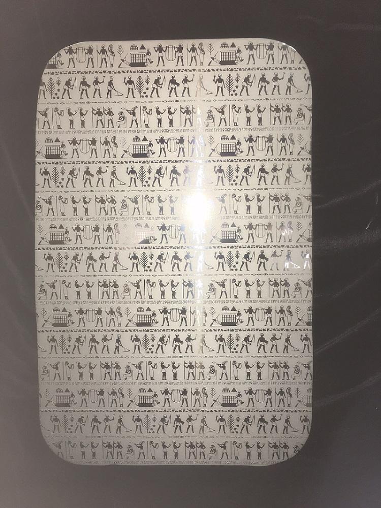 サイドベッド窓 エジプト(ヒエログラフ)