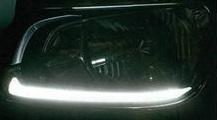LEDヘッドライトガーニッシュ グランドプロフィア(H15.11~H29.4)用