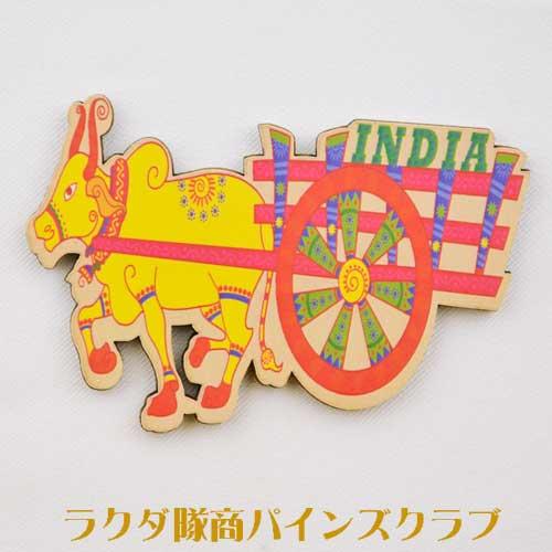 インドを代表する動物コブ牛のマグネットです。 マグネット コブウシ KZZ-109 - thefandomentals.com