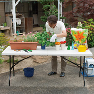 【アルミス 折りたたみ作業台】 【送料無料】 折り畳み作業テーブル 折り畳み作業台