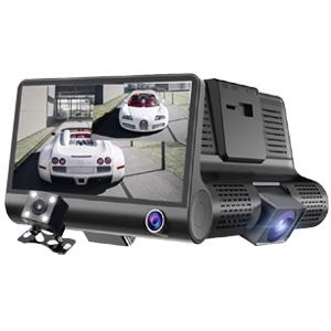 【送料無料】全景3カメラ ハイビジョンドライブレコーダー [フロントカメラ リアカメラ 車載カメラ付きドライブレコーダー]