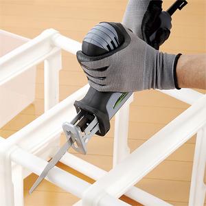 【送料無料】 電気ノコギリ特別セット ゴーグル・手袋付き 63028 [木用・鉄工用・塩ビ用・ナイフの4種のブレード付き]