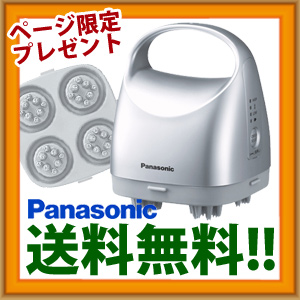 \ページ限定・カードケース付/ 【送料無料】 Panasonic パナソニック 頭皮エステ 皮脂洗浄タイプ EH-HM79-S 頭皮にやさしく絞り出し洗浄