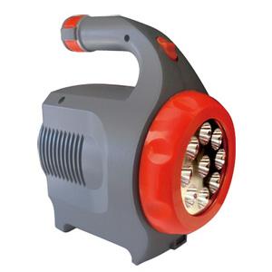 【即出荷】ソーラーLEDランタン 【強力LEDサーチライト付きポータブルバッテリー LED ガードマン 】 [送料無料・保証付] 非常灯 LEDサーチライト ソーラーライト 非常用 LEDガードマン