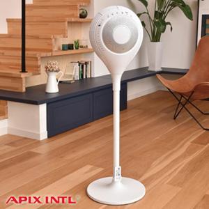 扇風機 かっこいい 【アピックス ディフュージョンファン AFD-608R ホワイト】 [送料無料・代引料無料] リビング扇風機 サーキュレーター センサー おしゃれ扇風機