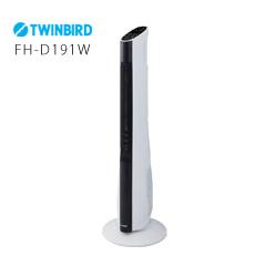 縦型 電気ストーブ スリムタワーファンヒーター FH-D191W TWINBIRD ツインバード【送料無料】