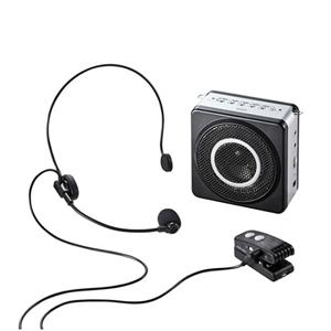 サンワサプライ ワイヤレスポータブル拡声器 MM-SPAMP5 ■送料無料■[充電式拡声器 ワイヤレス スピーカー 拡声器 送信機 受信機 セミナー 講習会]