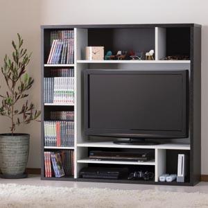 オールインワン AOR-1212AV ■送料無料■ 壁面収納テレビラック 壁面収納棚 32型テレビ対応 壁面収納ラック テレビ台