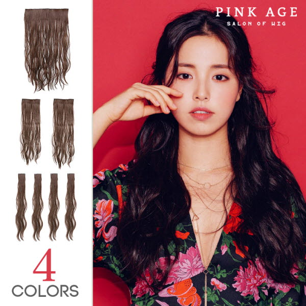 Pinkage Shop Wig Extension One Touch Extension Hippie Permanent V
