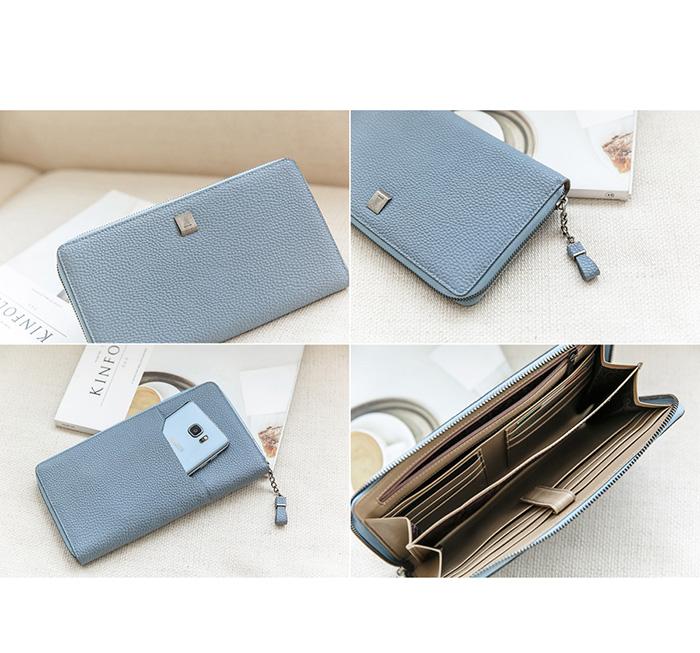 51addbb9c32 ... Omnia leather wallets wallet purse long wallet purse wallet Womens long purses  women wallet leather cute ...