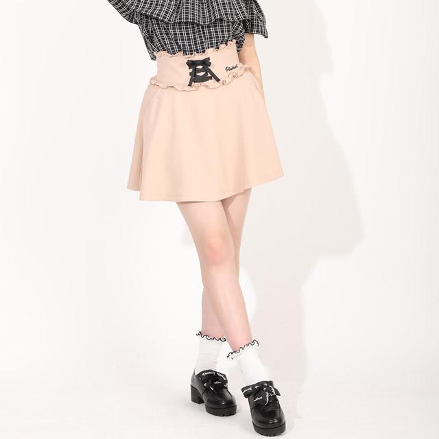 超美品再入荷品質至上 ガールズボトム お求めやすく価格改定 ミニスカ# 最大1 000円引クーポン配布中 8 19~40%OFF サマーSALE PINKHUNT ピンクハント レースアップ ハイウエスト ファッション ジュニア 5366Kキッズ 中学生 小学生 女の子 韓国子供服 かわいい 服 PH スカート