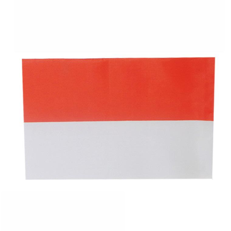 世界の国旗 新品未使用 約21×14cm ア行国 お気に入り :インドネシア 手旗 小さめ ミニ国旗 フラッグ ゆうパケット対応 応援グッズ 手持ち