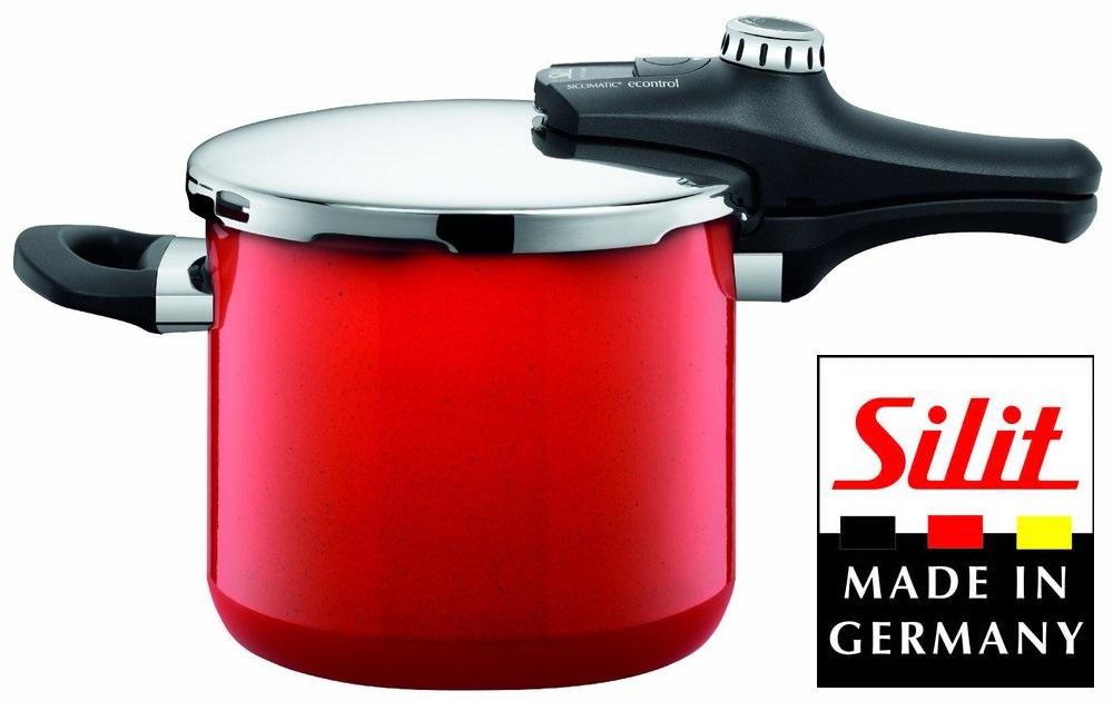 Silit Pressure Pot 65 E Control Red