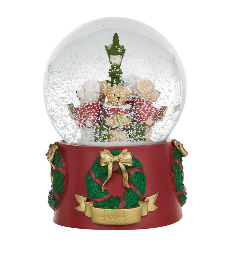 pinkpoudre: [Harrods] / Christmas Bear Light Up Snow Globe [regular ...
