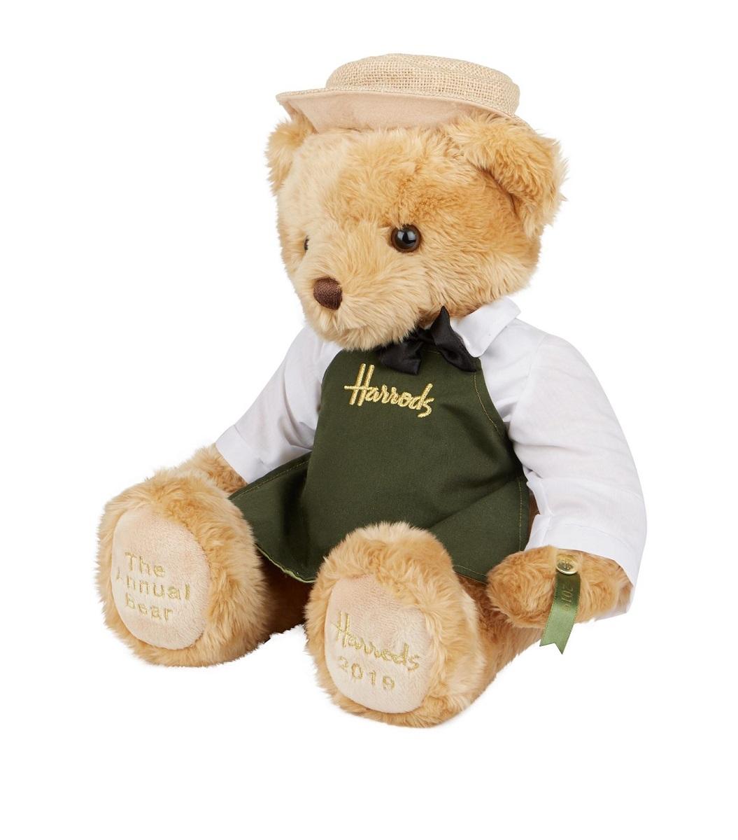 【Harrods year bear Annual Bear Grocer 2019  】アニュアル ベア グローサー 2019 spring ハロッズ イヤーベア 2019年 Harrods ディスプレイボックス入り(本州)