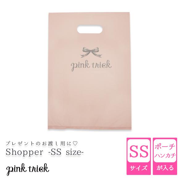 特価キャンペーン pinktrick ピンクトリック pink 捧呈 trickのロゴ入りビニールショッパー 母の日 ギフト trickビニールショッパー pinktrickpink