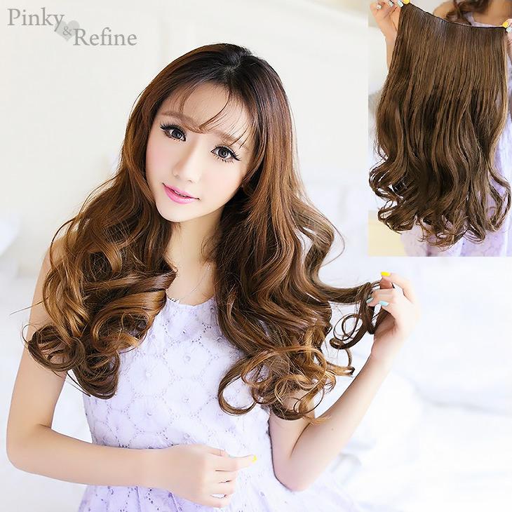 Pinky Refine Rakuten Global Market Exte Hair Extensions Long Card