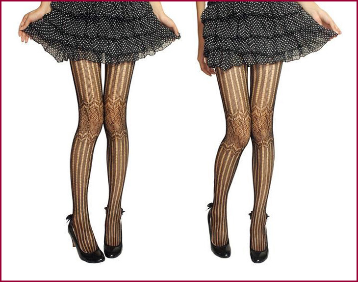 ea92b350c66 ... Knee point and classical pattern! look slim beautiful leg stockings (sexy  sexy design NET ...