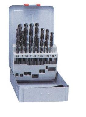 鉄工から木材まで幅広い用途に使える汎用ドリル ナチ 鉄工用ドリル19本組 SET19