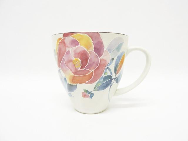 プレゼント 新生活 マグカップ チープ 花 花ことばマグカップバラ カフェ おしゃれ