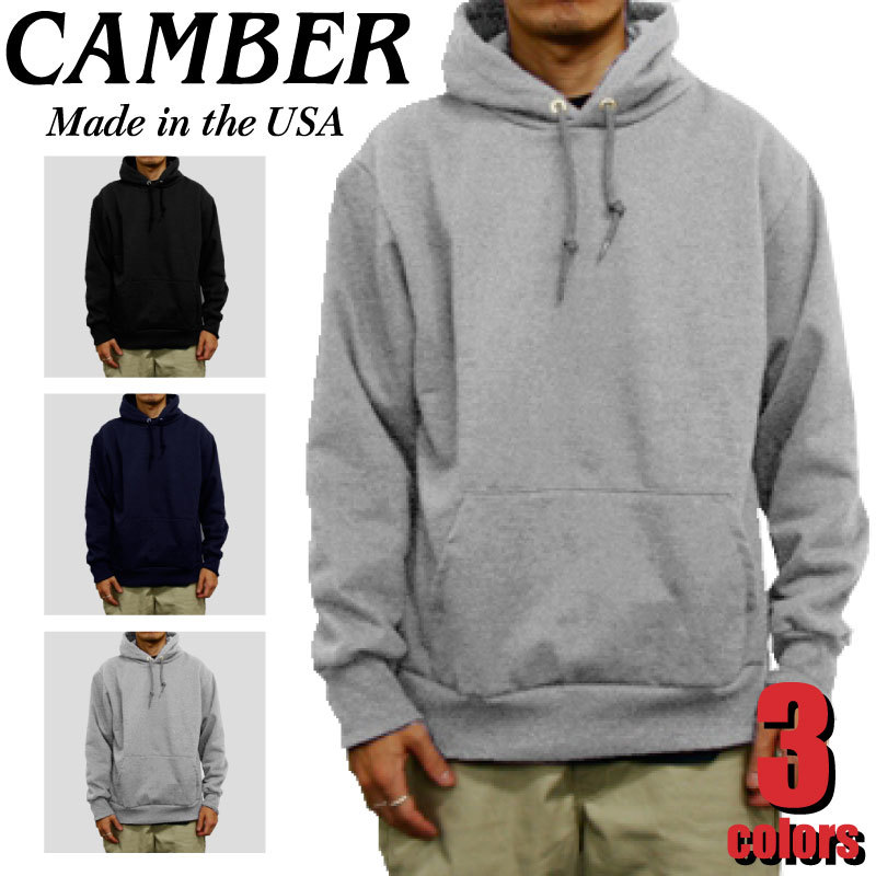CAMBER キャンバー CAMB-F0132  12.5oz 裏サーマル カブリパーカー プルオーバー MADE IN USA