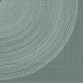 ペーパーナプキン40枚までメール便可 パーティー プチギフト デコパージュに最適 1パック20枚入りもあります marimekko マリメッコ ペーパーナプキン 可愛い 特価品コーナー☆ バラ売り grey☆ デコパージュ☆FOKUS 新品■送料無料■ 1枚
