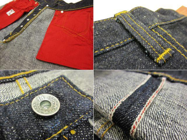 "Samurai jeans great war model S3000VX SAMURAI JEANS war S3000VX has one wash WWII 17 oz denim straight S3000VX ""zero""great war"""