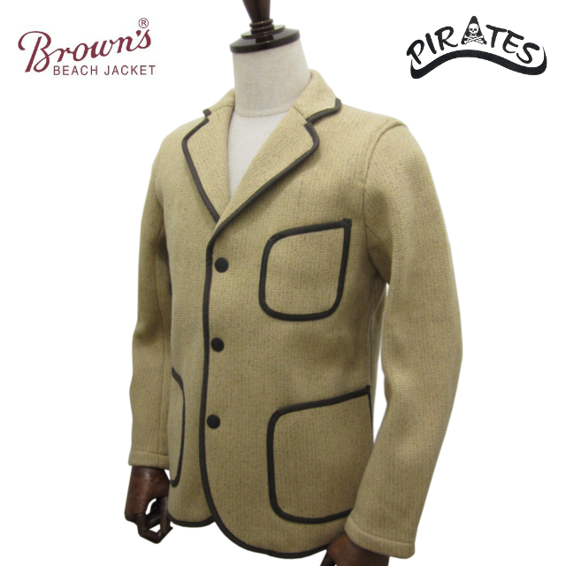 BROWN'S BEACH JACKET by FULLCOUNT ブラウンズ ビーチ ジャケット テーラードジャケット BBJ6-003