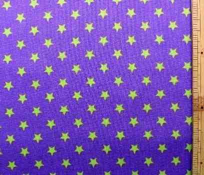 可愛いプリント生地がいっぱい プリント生地 お気にいる スターライト 中古 パープル 星 星柄 空 スター 入学 入園 ドット かわいい 子供 おしゃれ 女の子 男の子