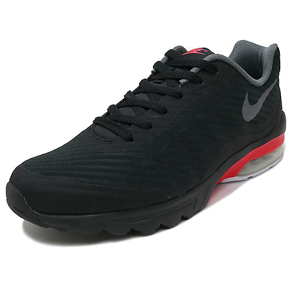NIKE AIR MAX INVIGOR SE black/dark grey/white/solar red (black / dark gray / white / solar red) 870,614-004 17FA