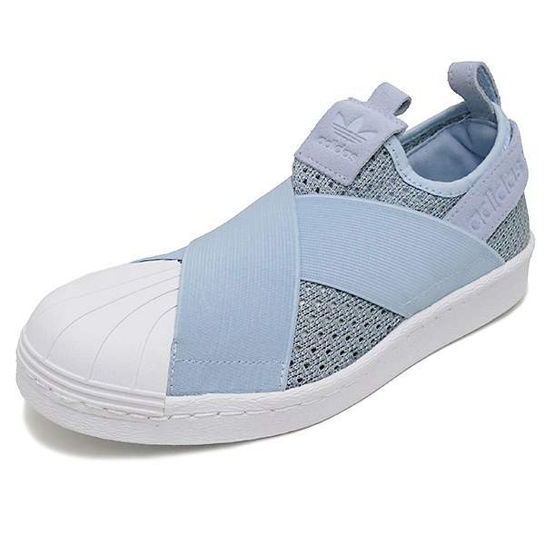 ADIDAS Originals SUPERSTAR SLIP ON W easy blue/off white(容易的蓝色/灰白)BB2121 17SS