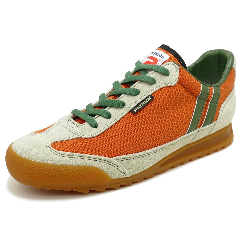 スニーカー パトリック PATRICK ブロンクス オレンジ 0065-J メンズ レディース シューズ 靴