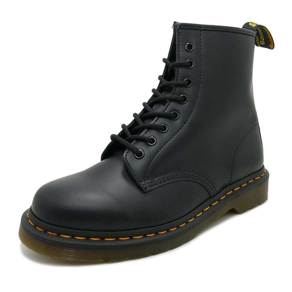 Dr.Martens 1460 8 EYE BOOT【ドクターマーチン 1460 8ホールブーツ】BLACK SMOOTH(ブラックスムース)10072004, オオエマチ ce09af38