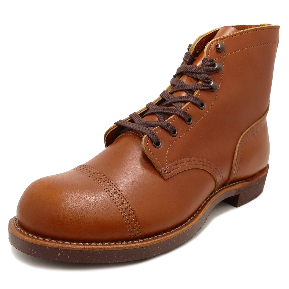 RED WING redwing IRON RANGE / MUNSON iron range Mansson white ash white Ashe boots 13FW
