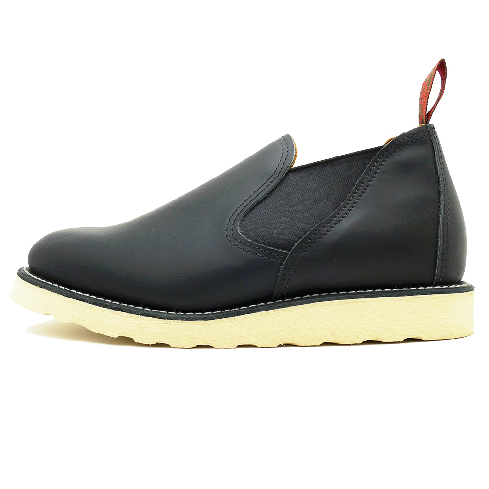 RED WING Red Wing 8142 ROMEO Romeo black chrome Black Chrome boots E wise