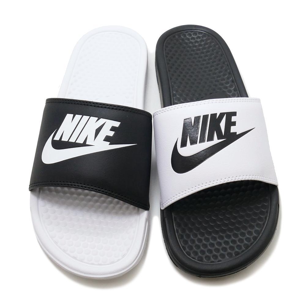 0cda3ed62f1 Nike Benassi JDI Mismatch Black White Black White 818736-011 Nike ...