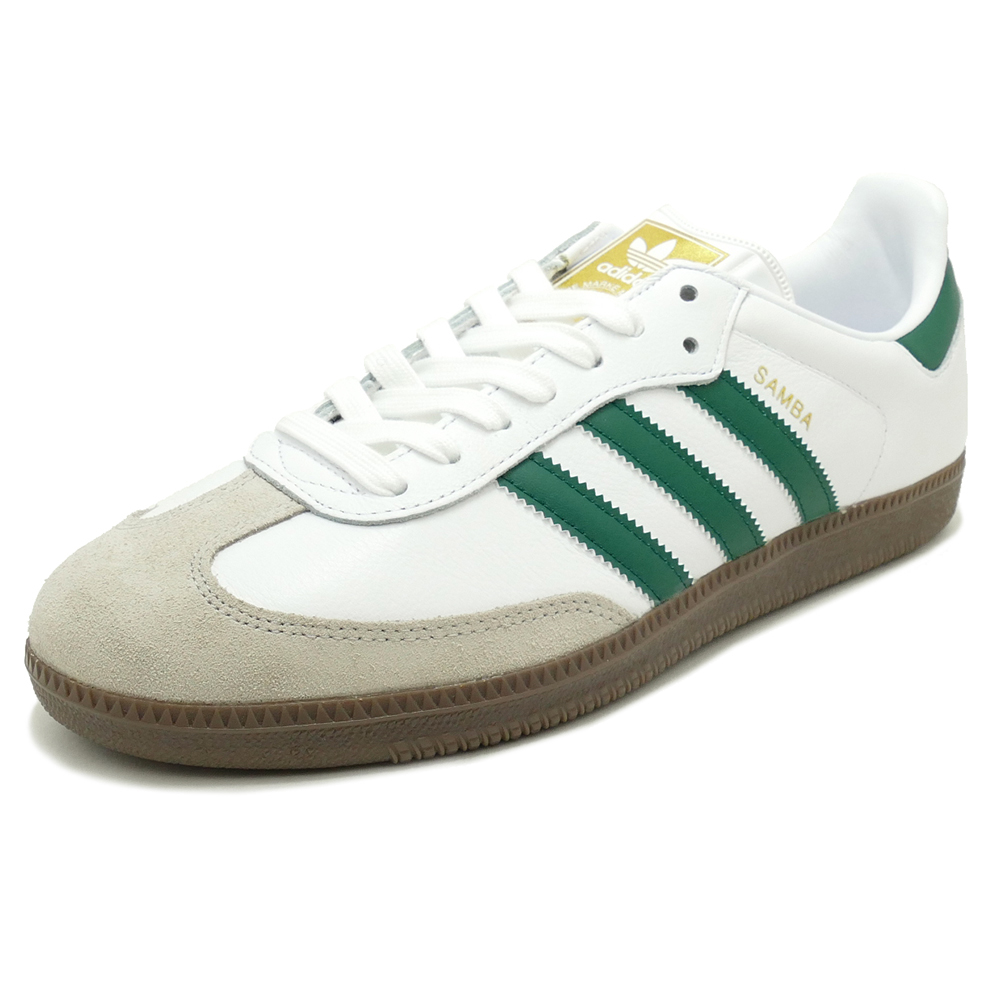 a716c9aacad14 ... denmark adidas originals samba og ftwr white collegiate green clear  granite running white college eight green