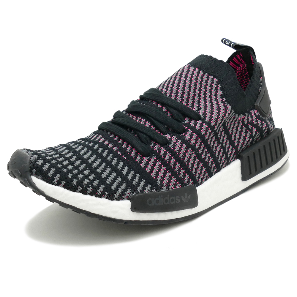 adidas originals NMD_R1 STLT PK【アディダス オリジナルス エヌエムディーR1STLTPK】core black/grey four f17/solar pink(コアブラック/グレーフォアF17/ソーラーピンク) CQ2386 18SS