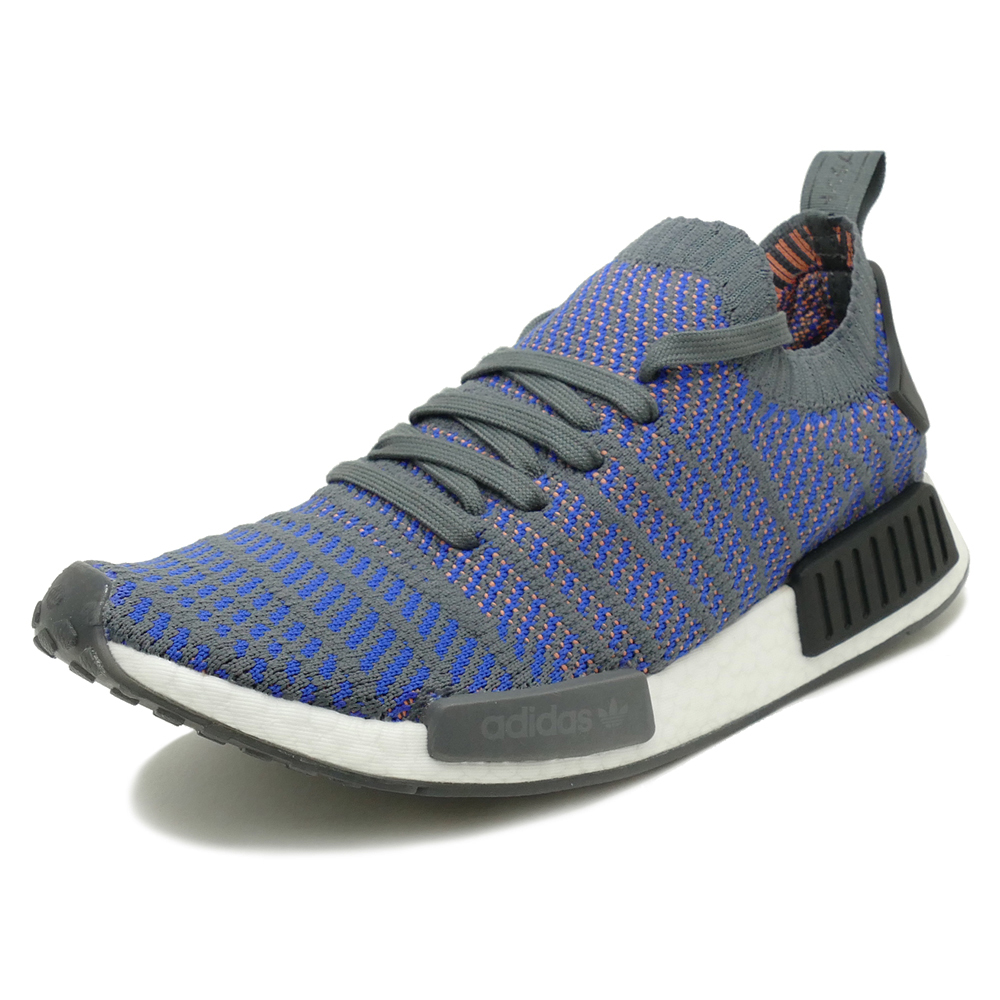 0141fa655be5 adidas Originals NMD R1 STLT PK hi-res blue core black chalk coral (hireso  blue   core black   chalk Coral) CQ2388 18SS