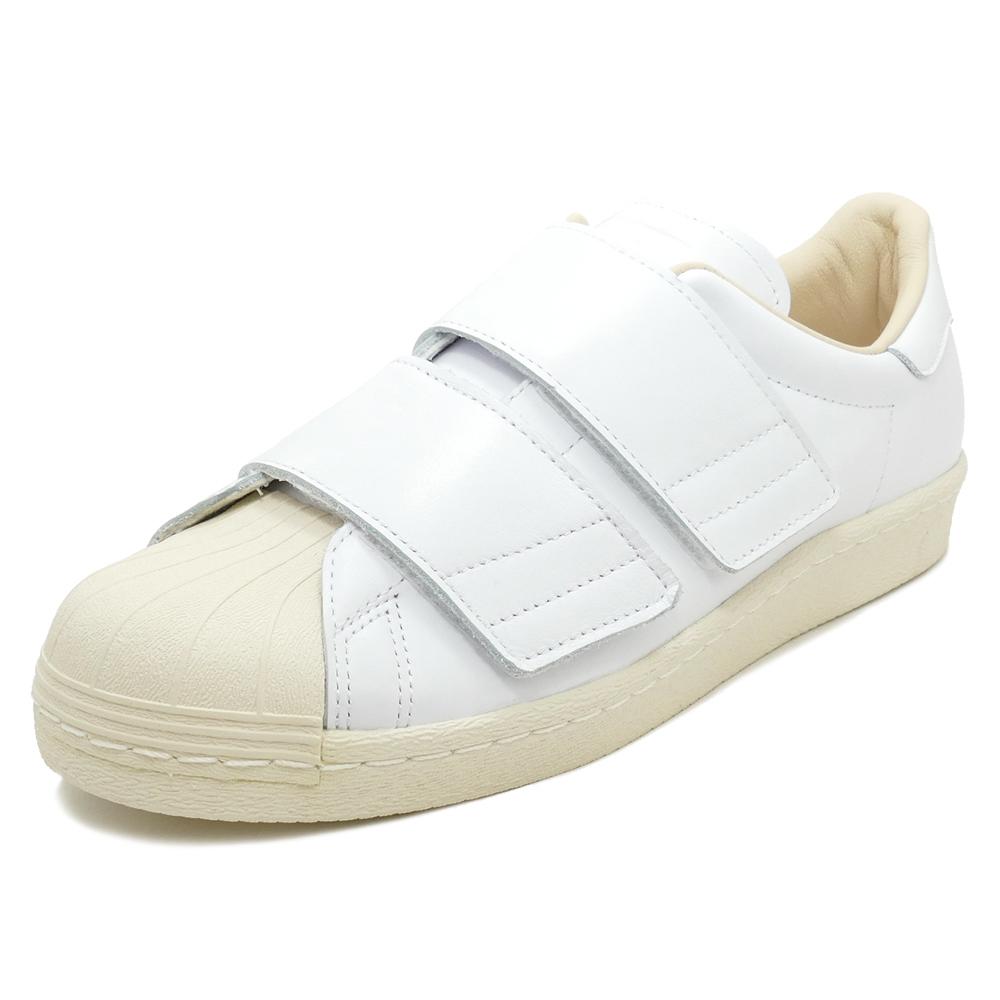 adidas Originals SS 80s VELCRO W【アディダス オリジナルス スーパースター80sベルクロウィメンズ】running white/running white/linen(ランニングホワイト/ランニングホワイト/リネン)CQ2447 18SS