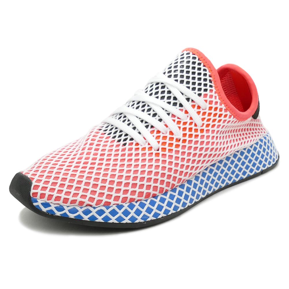 pretty nice fa4f3 68dd6 adidas Originals DEERUPT RUNNER solar redsolar redbluebird (solar red  solar  red  Bluebird) CQ2624 18SS