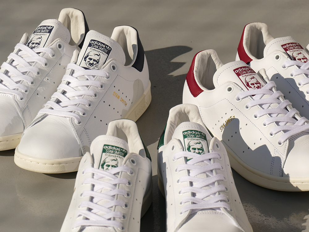 ADIDAS Originals STAN SMITH running white/running white/collegiate green (running white / running white / college eight green) CQ2871 18SS