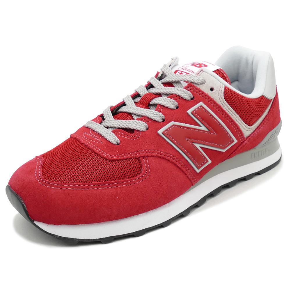 new balance 574 team red