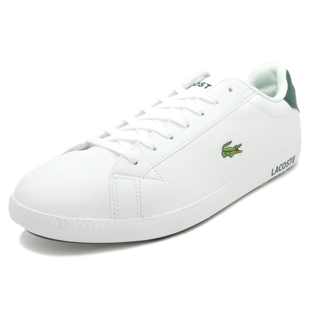 LACOSTE GRADUATE LCR3 118 1【ラコステ グラデュエイトLCR3 118 1】WHT/DK GRN white/dark green(ホワイト/ダークグリーン)SPM0013-1R5 18SS