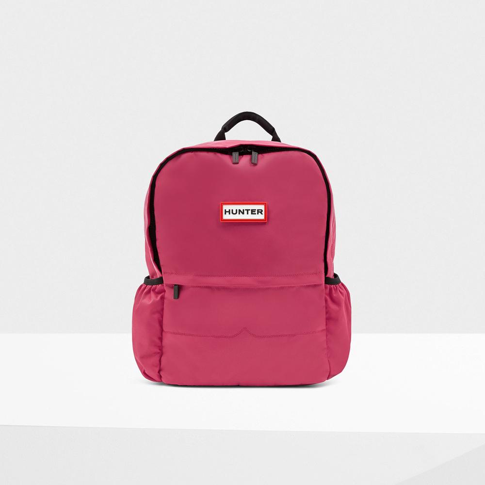 HUNTER ORIGINAL NYLON BACKPACK【ハンター オリジナルナイロンバックパック】bright pink(ブライトピンク)UBB6028KBM-RBP 18SS